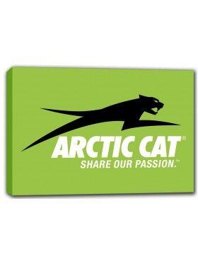 Artic Cat Canvas Print Wall Art
