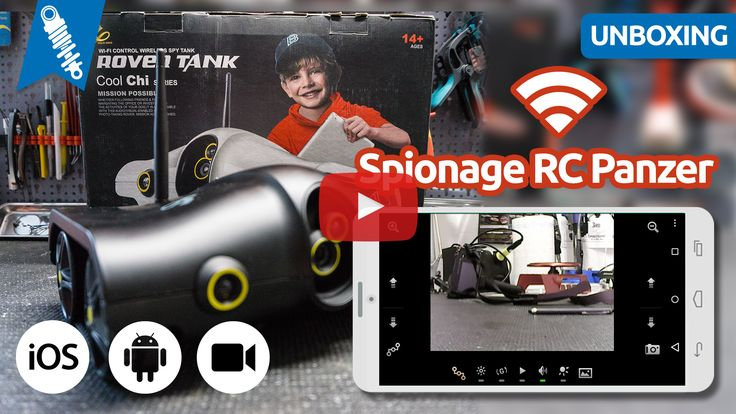 Vorgestellt: Ferngesteuerter Spionage Panzer mit Kamera & Wifi Controll (Rover Tank)...  Weiterlesen → http://wp.me/p5LY3T-2xE ‪ #‎rc‬ ‪#‎spy‬ ‪#‎tank‬ ‪#‎camera‬ ‪#‎smartphone‬ ‪#‎ios‬ ‪#‎android‬