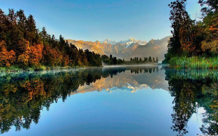 Ilha do Sul - Nova Zelandia