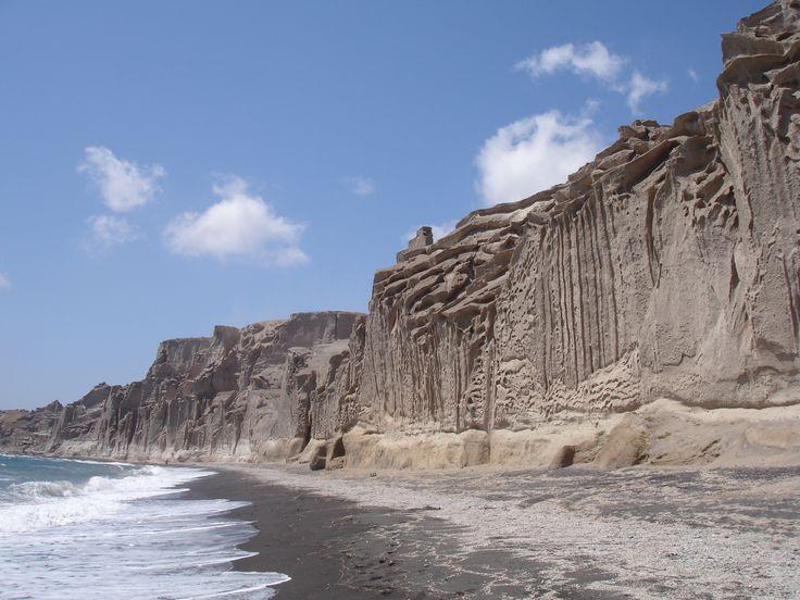 Vlyhada #beach on #Santorini #Summer
