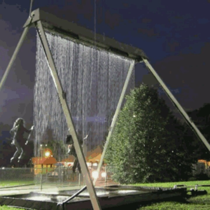 WOW...what a crazy cool swing seat!!!! <3