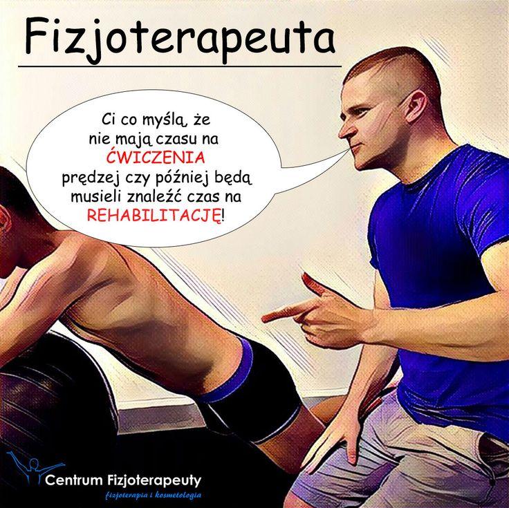 Ci, co myślą, że nie mają czasu na ćwiczenia prędzej czy później będą musieli znaleźć czas na rehabilitację! http://fizjoterapeuty.pl/ #zdrowie #ćwiczenia #rehabilitacja #czas #fizjoterapia