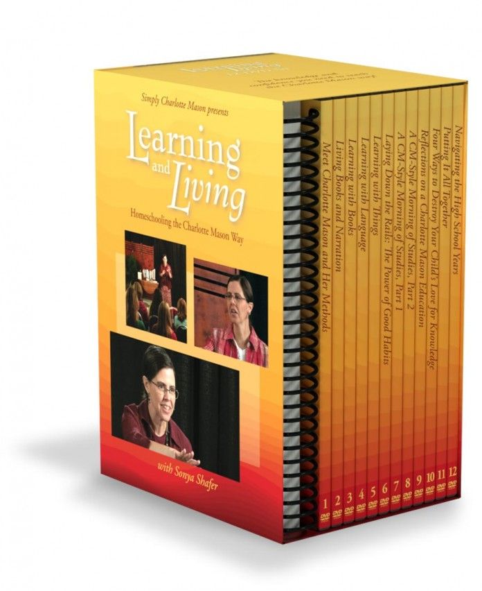 Learning and Living: Homeschooling the Charlotte Mason Way DVD Set
