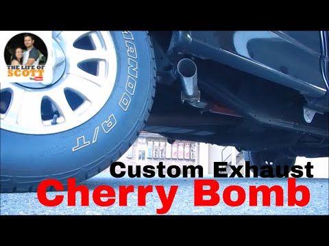 2001 Ford F150 Custom Exhaust - Cherry Bomb GlassPack - YouTube