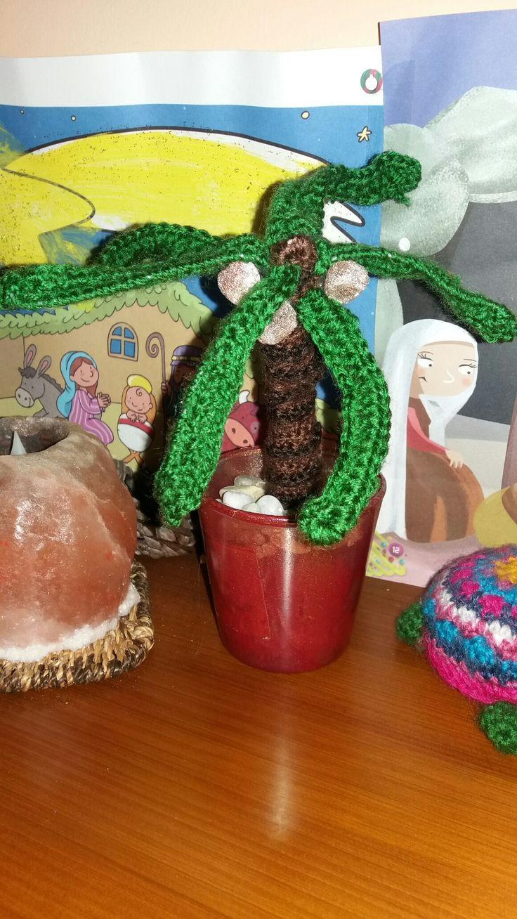 #palmera #crochet #amigurumi #navidad #belen