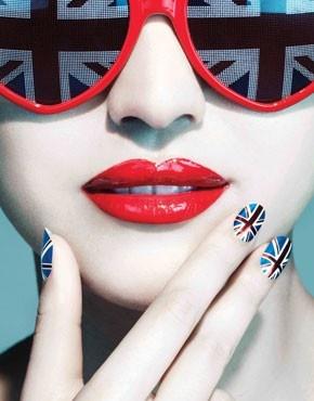 United Kingdom Designer Nail Wrap from Nail Rock