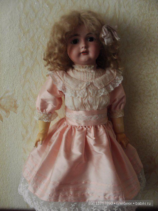 """Срочно!!!Скидка!!!Продается антикварная кукла J.D.Kestner 167 23"""" (58 см). / Антикварные куклы, реплики / Шопик. Продать купить куклу / Бэйбики. Куклы фото. Одежда для кукол"""