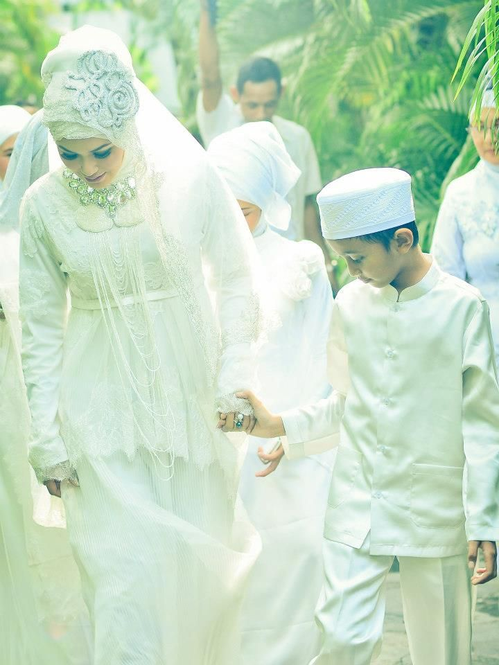 Irna Mutiara / Irna la Perle #indonesia #wedding #hijab