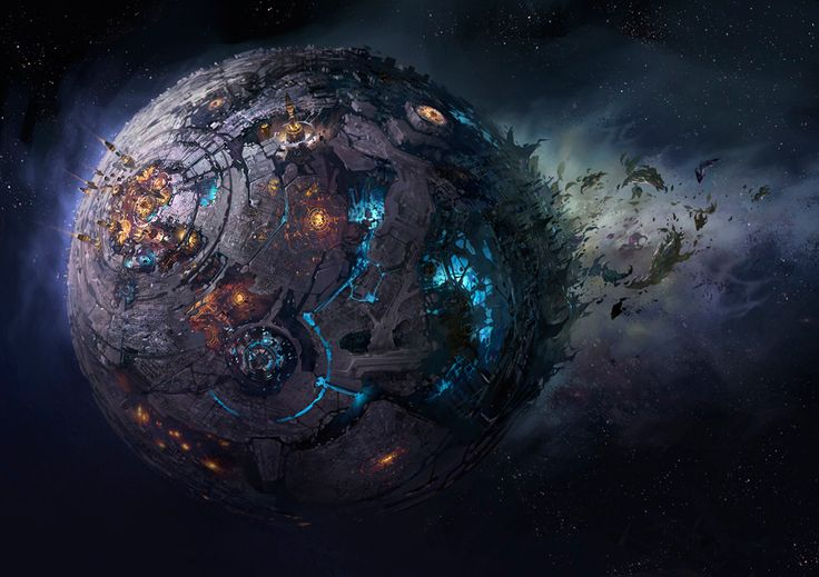 The Planet Cybertron... from Transformers. How to make a cake look like this??