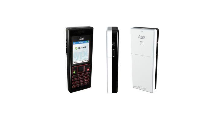 Skype Phone designed by Johannes Torpe Studios #Skype #Phone #Product #Design