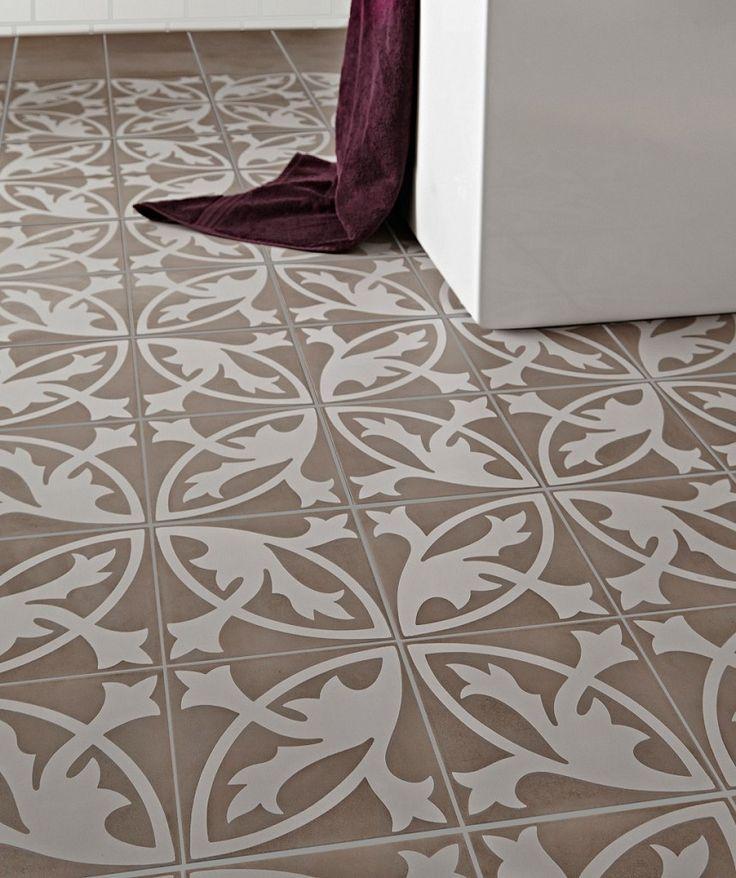camden grey floral lys topps tiles