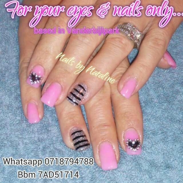 Pink, Black & Silver