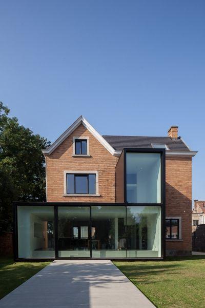 renovation villa AB - Projects - CAAN Architecten / Gent
