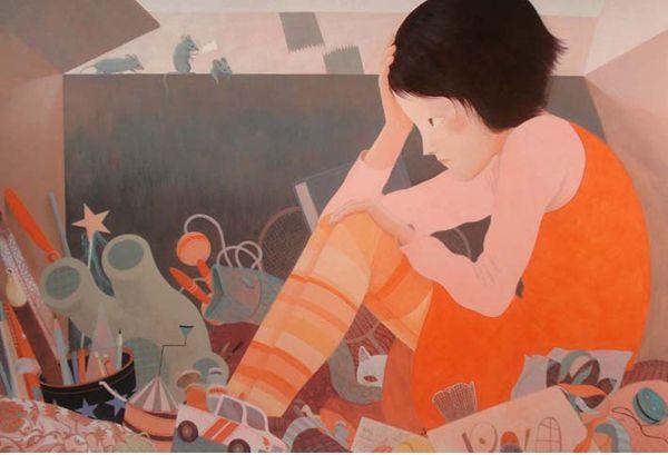 Claire de Gastold - Les jouets | Oeuvres | Galerie Robillard