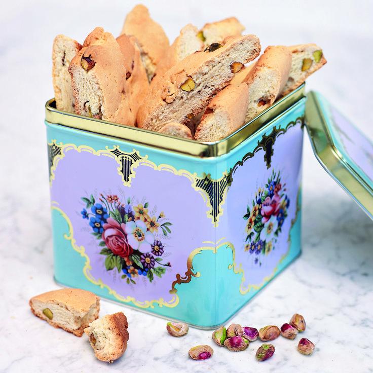 Skorpor som kan varieras med till exempel saffran, kakao och lakrits.