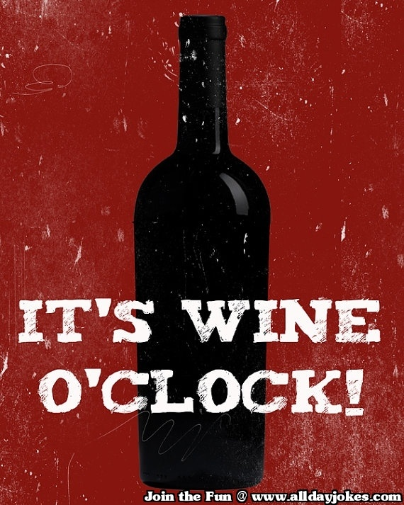 Wine o clock should get official