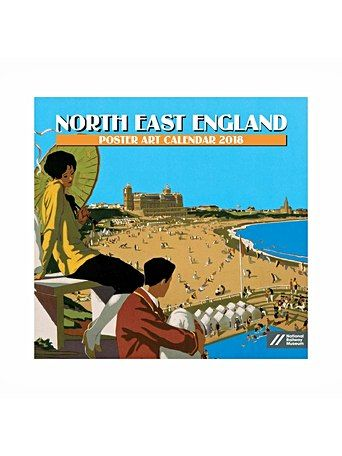 South Of England Poster Calendar 2018 - Gifts