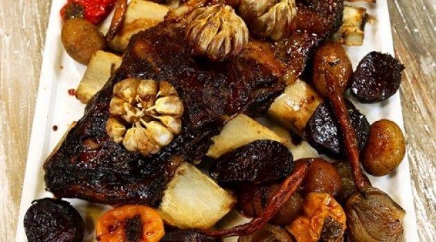 Arda'nın Mutfağı Karışık Sebzeli Dana Kaburga Tarifi 25.12.2016