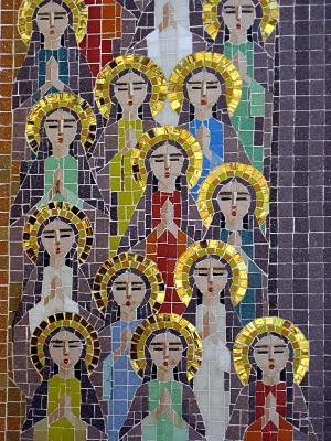 Mosaic at the coptic church of Cairo: Mosaics Til, Golden Auras, Marvel Mosaics, 3 Mosaics 3, Art, Coptic Treasure, Coptic Church, Mosaic, Icons Εικόνες Religious