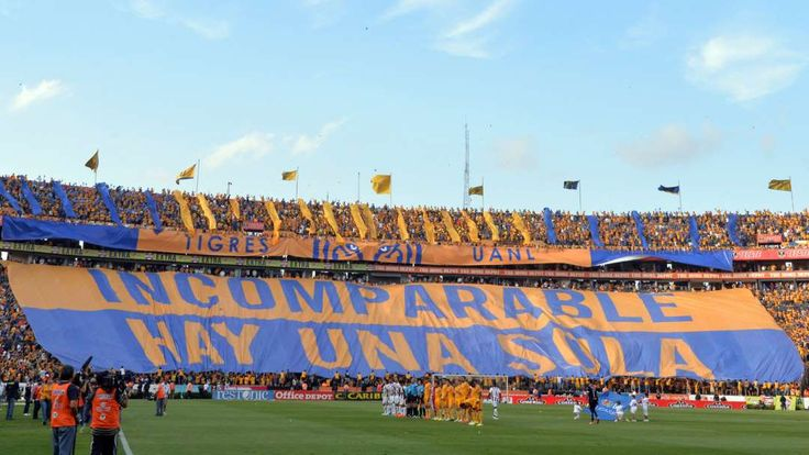 Best soccer Tifos from around the world:     Tigres:   Ahead of a clash with Mexican foe Monterrey, Tigres players are treated by this message by its fervent supporters.