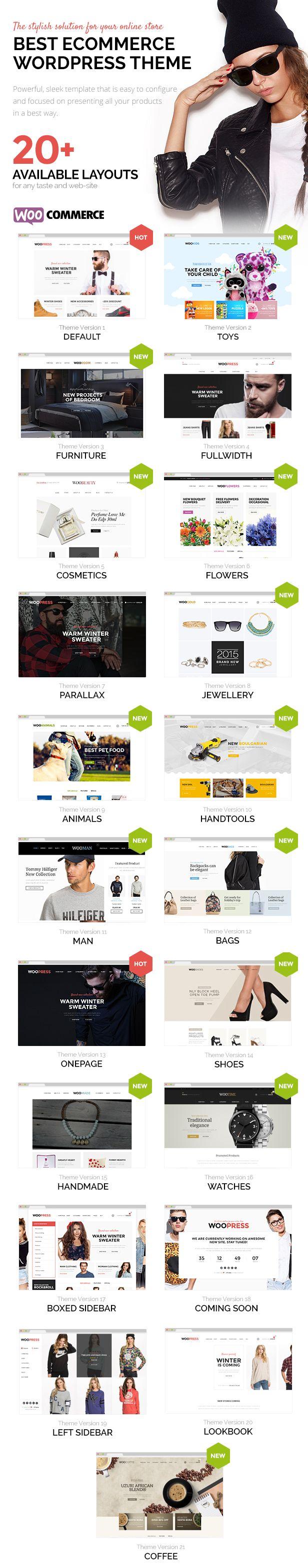 WooPress - Responsive Ecommerce WordPress Theme • Download theme ➝…