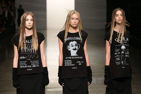 NOM*d kicks off NZFW 2014 with its Autumn Winter 2015 collection 'NOISE'