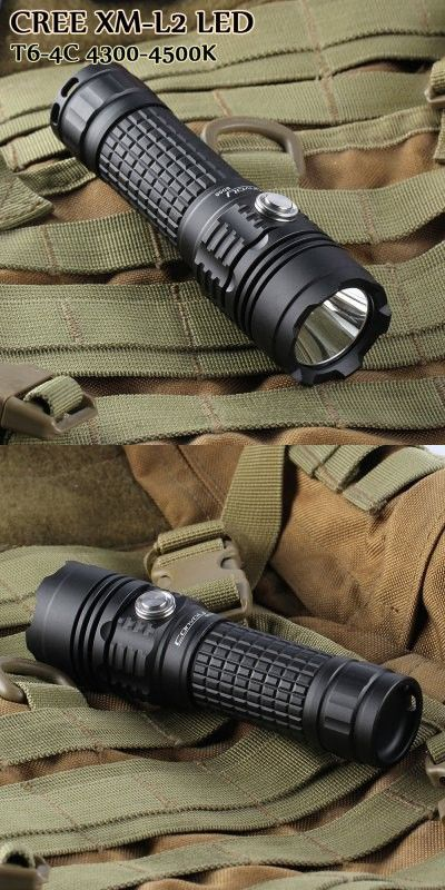 Convoy BD06 Cree XML2 T6 4C 900Lm Rechargeable LED Flashlight