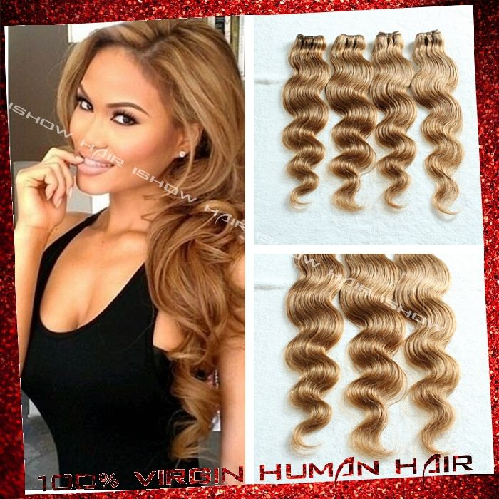 Find More Hair Weaves Information about ishow hair product Honey blonde brazilian virgin hair body wave 4bundles cheap human hair weave lighter brown blonde virgin hair,High Quality hair brush curly hair,China hair color for black hair Suppliers, Cheap hair distribution from Xuchang Ishow Virgin Hair  Co.,Ltd on Aliexpress.com