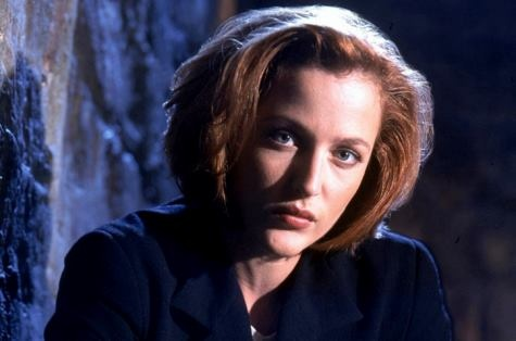 """""""The X-Files"""" Agent Scully"""