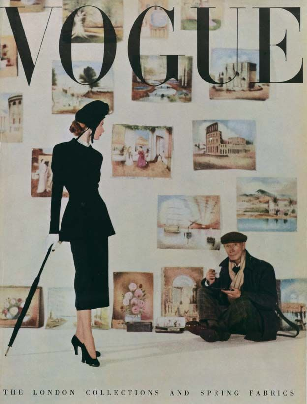 Vogue: Vogue Marching, Marching 1948, Vintage Fashion, Vogue Uk, Vogue Magazines, Vintage Magazines, Magazines Covers, Vintage Vogue, Vogue Covers