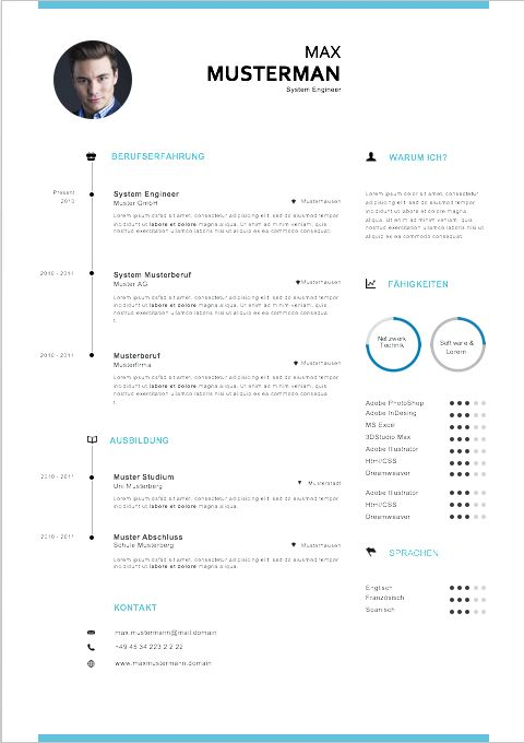 1000+ Ideas About Bewerbung Lebenslauf On Pinterest | Lebenslauf
