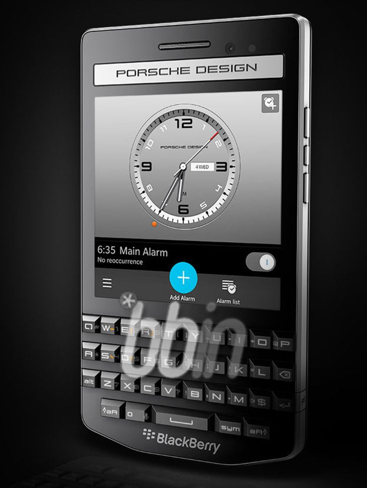 BlackBerry Porsche Design P'9983 full specs and new images appear