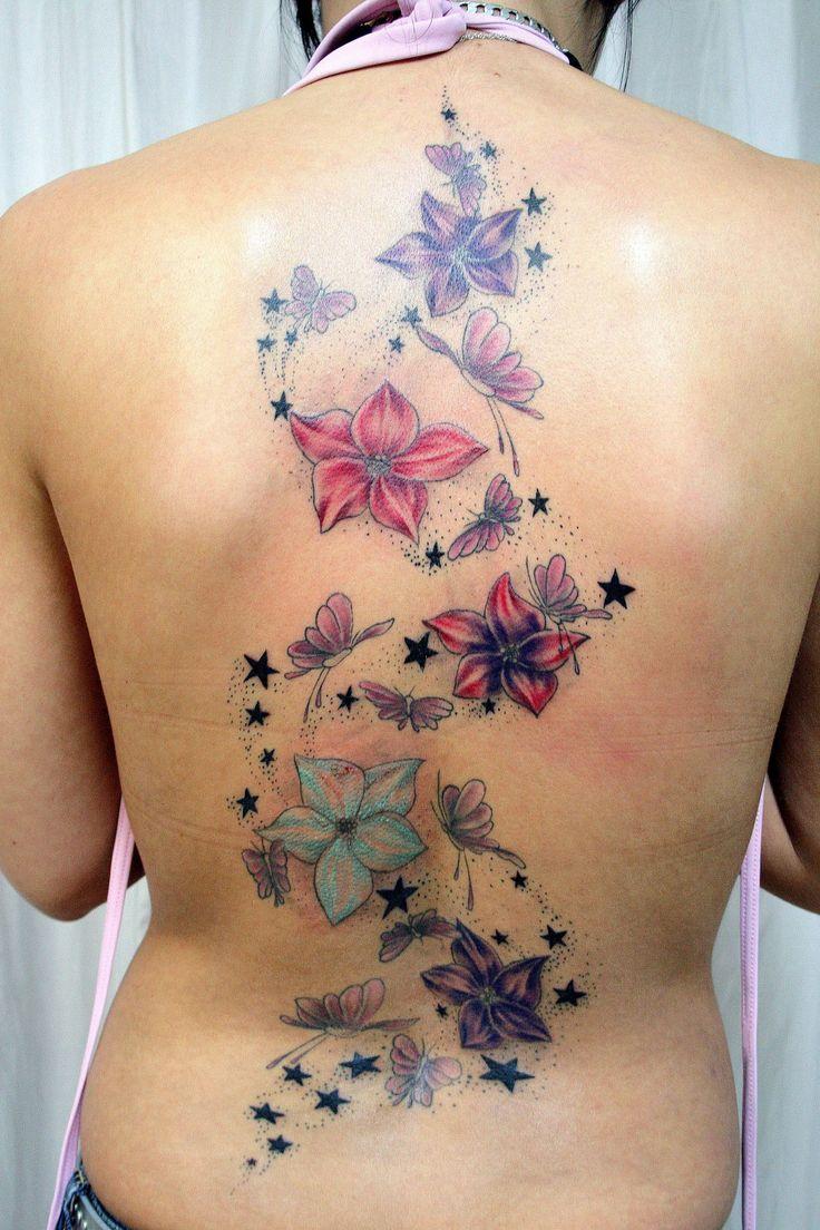 Flowers Tattoos For Girls Design Ideas