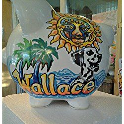 Custom Music Piggy Bank Band of your Choice Personalized and Handpainted