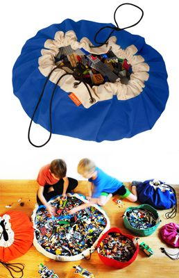 "Swoop Sack. Yep. Amazing invention. It's another ""why didn't I think of that"" product. #organization #kids #toys"