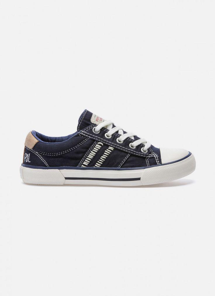 Pepe jeans london industry basic damen sneakers grau