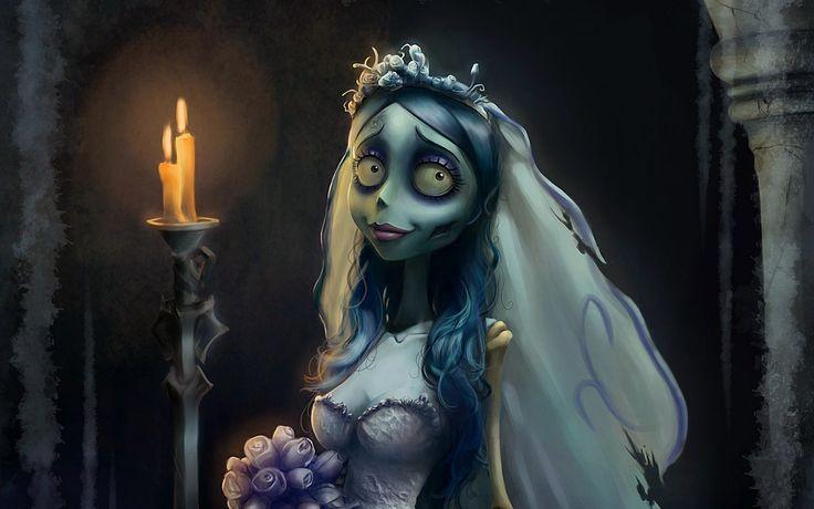 Corpse Bride - Wallpaper for Mac