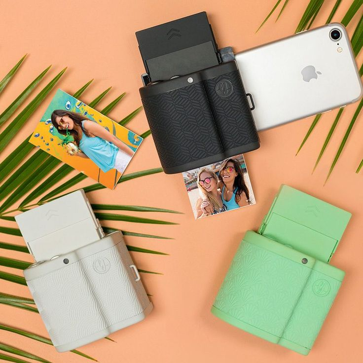 the prynt pocket transforms your iphone into a mini polaroid camera
