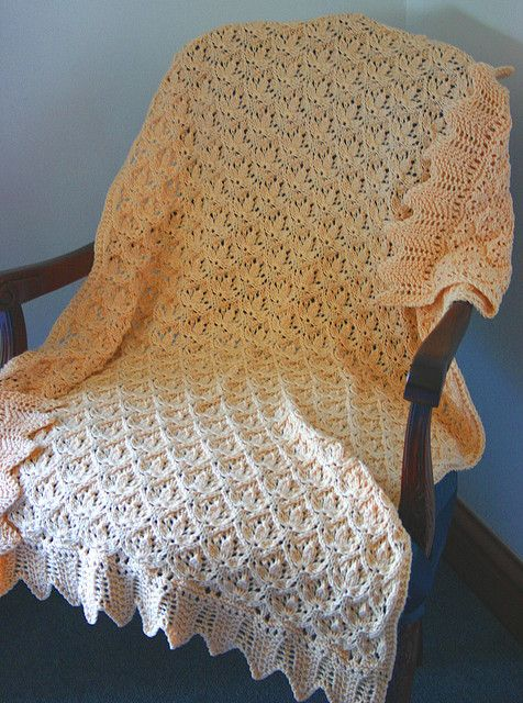 Knitting Pattern For Roots Blanket : 119 best Baby Knitted Christening Shawls images on Pinterest