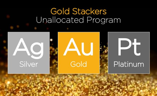 The Gold Stackers Unallocated Program is an industry leading solution for precious metals ownership without the overhead of physical security or storage costs.  http://www.goldstackers.com.au/store/unallocated.html?utm_content=buffer1b474&utm_medium=social&utm_source=pinterest.com&utm_campaign=buffer  #buygoldmelbourne