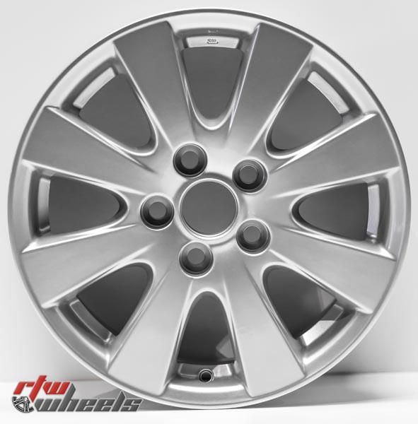 "16"" Toyota Camry oem replica wheels 2007-2011  for rims 69496 - https://www.rtwwheels.com/store/shop/16-toyota-camry-oem-replica-wheels-for-sale-rims-aly69496u20n/"