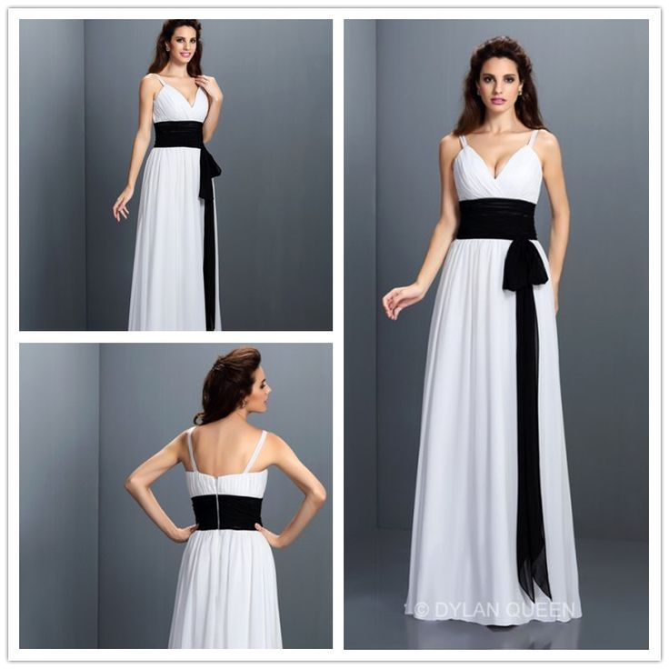 #dylanqueen 2015 White sweet heart&sweep bridesmaid dress #graceful