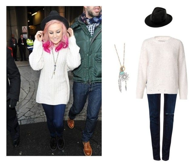 """""""Perrie Edwards from little mix"""" by jbbeale ❤ liked on Polyvore featuring Pull&Bear, By Malene Birger and With Love From CA"""