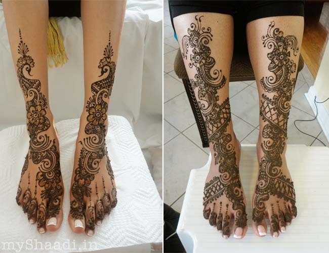Beautiful Arabic Mehendi Designs for the Bride | Myshaadi.in