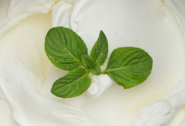 Menta bianca al naturale: milk-cream with natural mint essence.