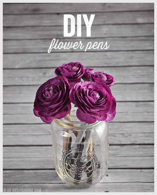 Or liven up your desk with a pen bouquet.   17 DIY Projects For People Who Lose Literally Everything