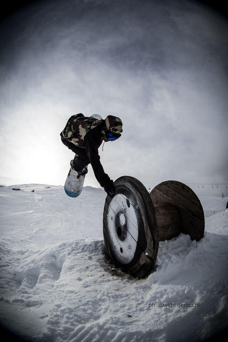 Kawabonga Snowpark -DueeffeShop Team -Handplant -Flavio F. -Art Of Sool Collabo