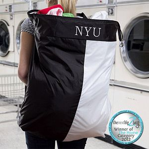 Personalized Laundry Bag Sort A Sack Your College Student Would Do Their More If They Had This At The Least Will Bring