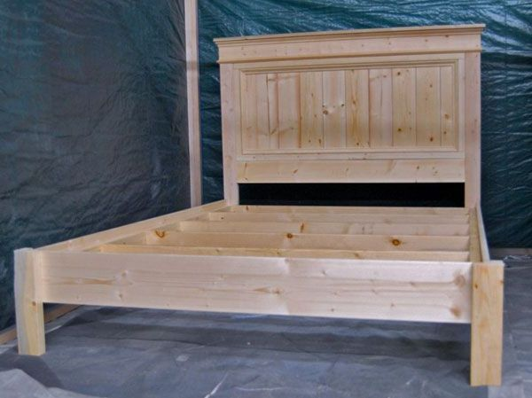 Bedroom:How To Build A King Size Bed Frame How To Make King Size Bed Frame Build King Size Fancy Farmhouse Beds