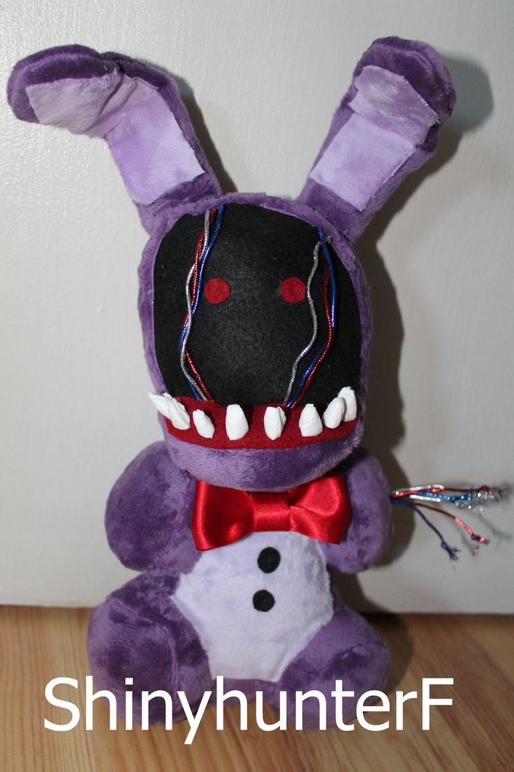 Fnaf Bonnie Plushies For Sale - Chibi faceless bonnie plush by shinyhunterf deviantart com on deviantart